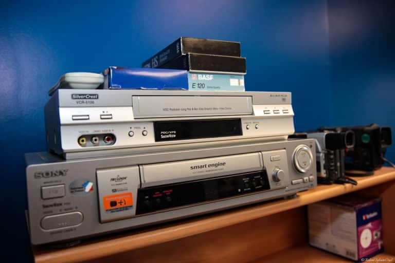 Transfert et numérisation anciennes cassette VHS et VHS-C
