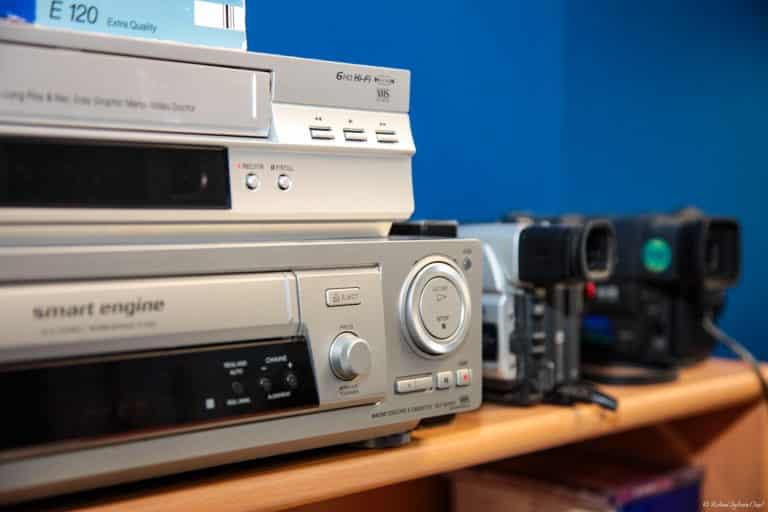 Transfert et numérisation anciennes cassette 8mm Hi8 D8