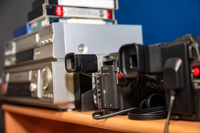 Transfert et numérisation anciennes cassette Mini-DV